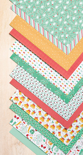Presents & Pinecones Designer Series Paper