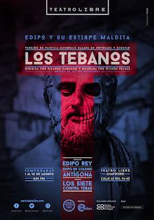 POS LOS TEBANOS Teatro Libre de Chapinero