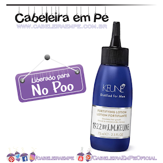 Ingredientes Fortifying Lotion 1922 - Keune (No Poo)
