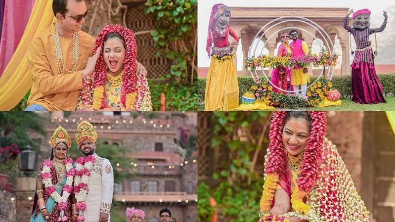Few beautiful pictures from Archita Sabyasachi's Marraige