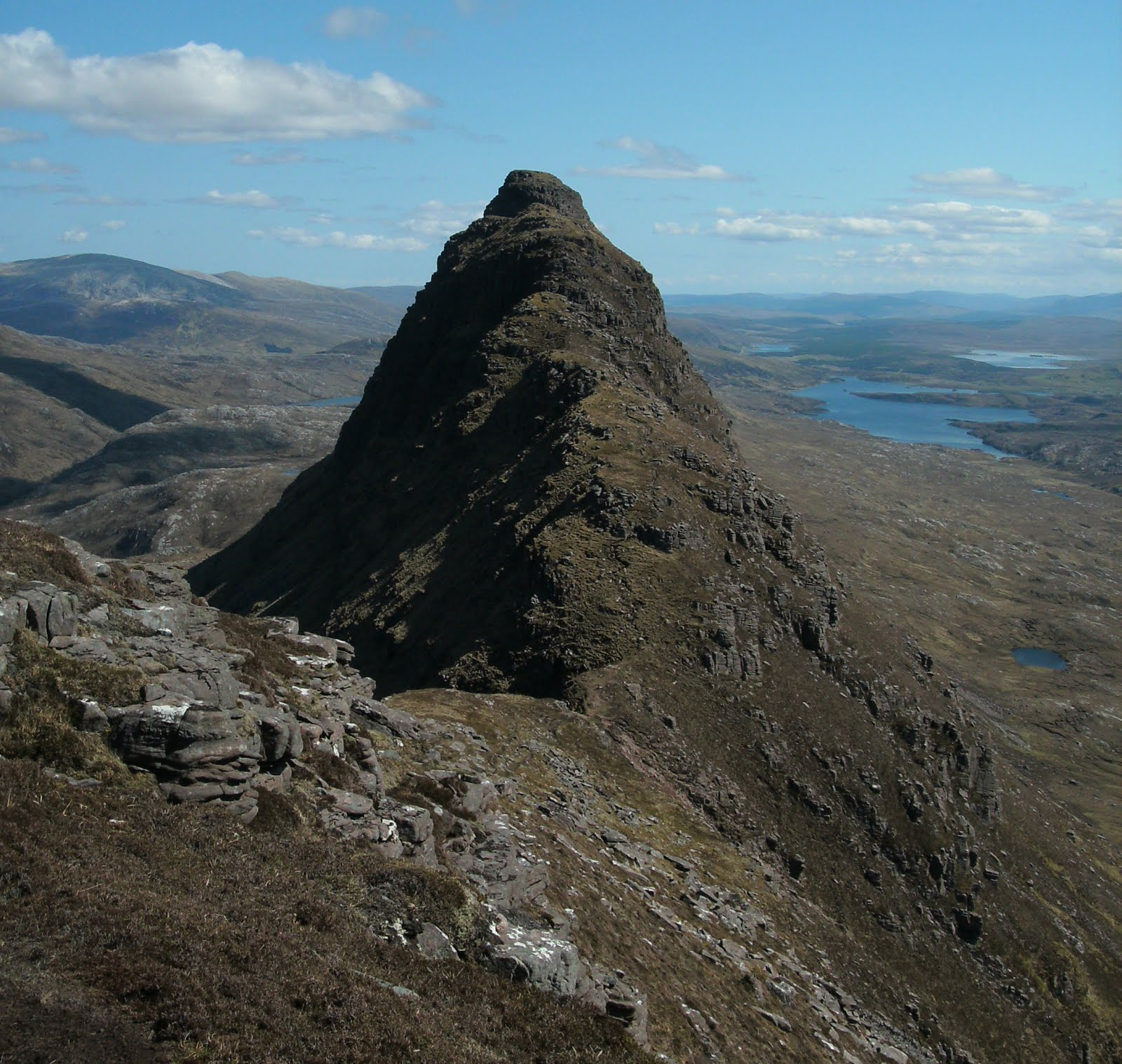 Tour Scotland: Tour Scotland Photograph Suilven Mountain
