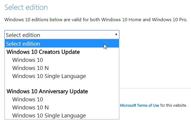 Cara Download File ISO Windows 10 Secara Gratis dan Legal dari Microsoft