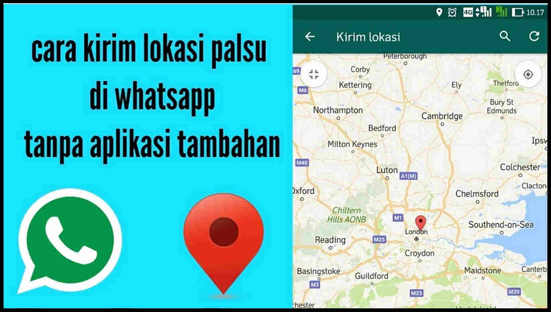 fake live location whatsapp