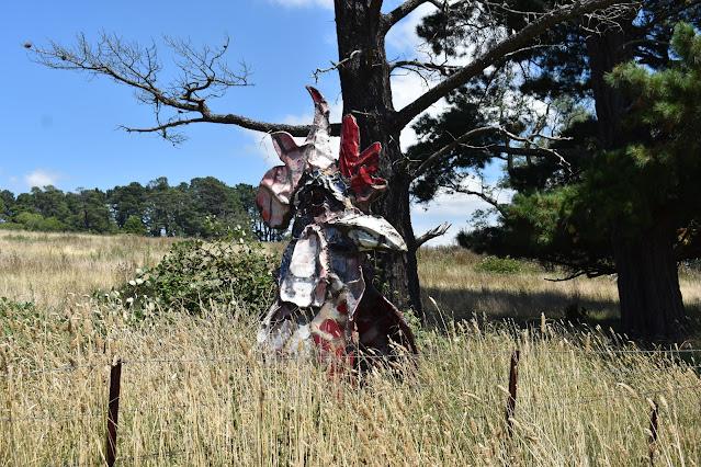 Public Art by Daniel Clement in Sutton Forest