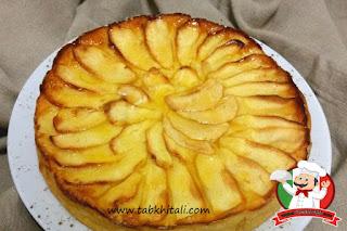 طريقة عمل حلوى فطيرة التفاح التقليدية
