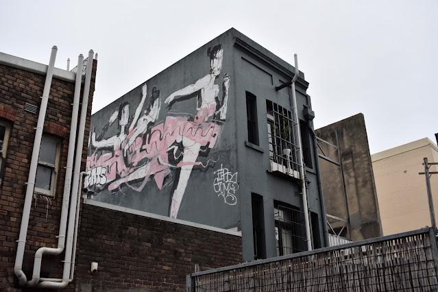 Street Art in Darlinghurst  by Lister