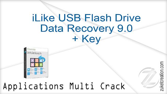 iLike USB Flash Drive Data Recovery 9.0 + Key    |  12 MB