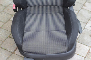 VW Golf TDI seat