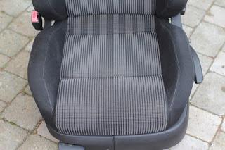 VW Golf TDI seat