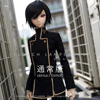 "Preview de Lelouch Lamperouge ed. Default y Deluxe  de ""Code Geass"" - Smart Doll"