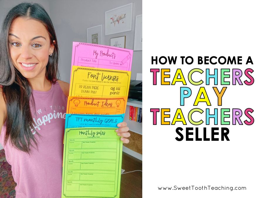 How To: Create & Sell Digital Resources On Teachers Pay Teachers - Sweet  Tooth Teaching