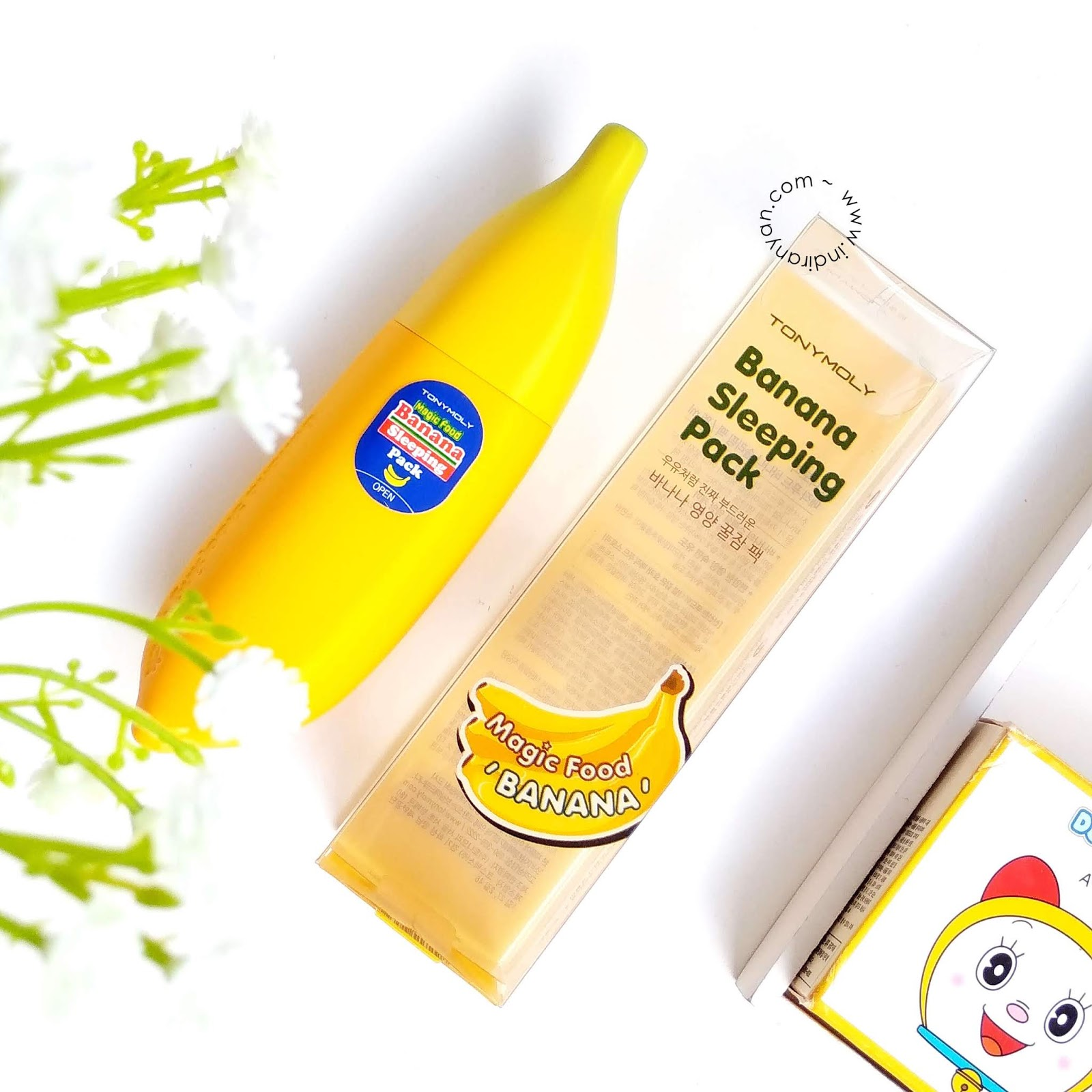 tony-moly-banana-sleeping-pack-review-indonesia, tony-moly-banana-sleeping-pack