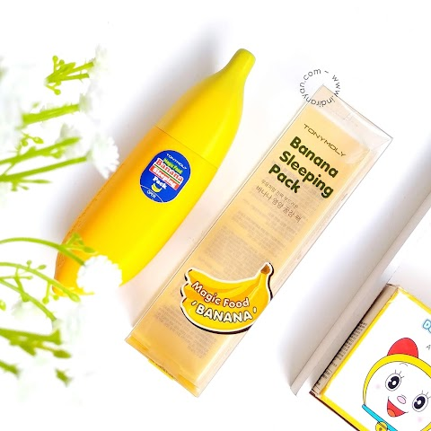 [REVIEW] Tony Moly Banana Sleeping Pack