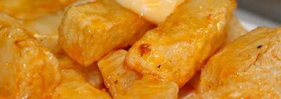 Patatas Bravas del Bar el Tomás de Sarria de Barcelona