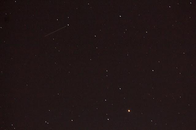 Mars nearing Uranus conjunction, DSLR, 150mm, 8 seconds (Source: Palmia Observatory)