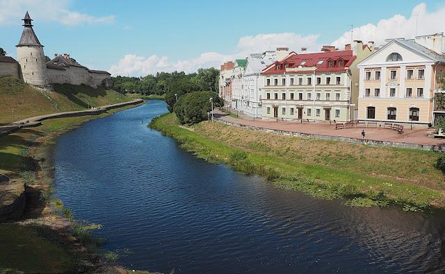 Псков, Советская набережная (Pskov, Soviet embankment)