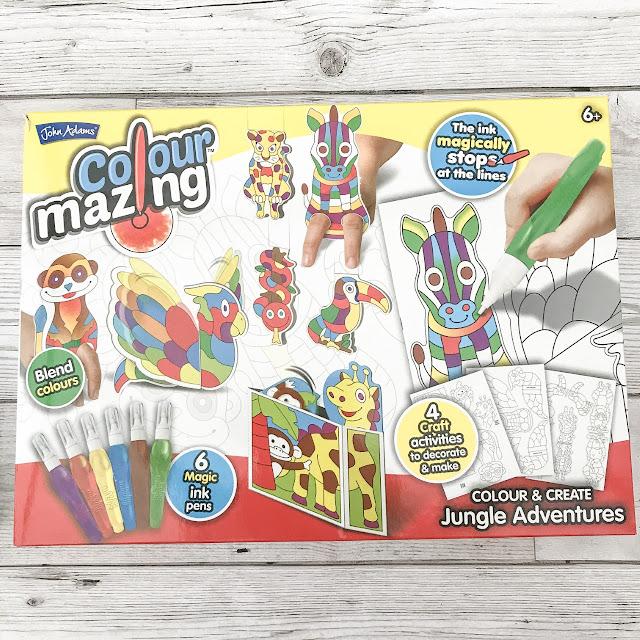 Boxed ColourMazing Jungle Adventures set