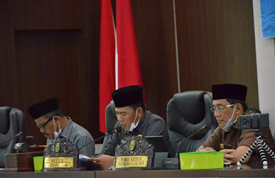 Gelar Paripurna Telekonfren, DPRD Tebo Setujui 7 Ranperda