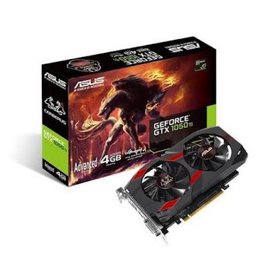 NVidia GeForce GTX 1050 Tiドライバーダウンロード