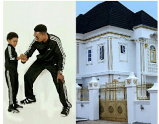 Comedian, I Go Dye, Gifts His Son A Massive House As He Turns 9 [Photos]