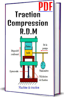 Traction Compression R.D.M PDF, Dimension longitudinale, Dimension transversale, Diagramme contrainte-déformation, Loi de Hooke, Expression de la loi hooke, Module d'élasticité, Quelques valeurs du module de Young, Dimensions après traction ou compression, Variation du volume, Quelques valeurs du coefficient  de Poisson, Coefficient de sécurité pour les charges en traction, Traction d'un barreau suspendu sous l'effet de son poids, Dilatation thermique, Cylindre à paroi mince sous pression