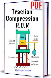 Traction Compression R.D.M PDF, Dimension longitudinale, Dimension transversale, Diagramme contrainte-déformation, Loi de Hooke, Expression de la loi hooke, Module d'élasticité, Quelques valeurs du module de Young, Dimensions après traction ou compression, Variation du volume, Quelques valeurs du coefficient  de Poisson, Coefficient de sécurité pour les charges en traction, Traction d'un barreau suspendu sous l'effet de son poids, Dilatation thermique, Cylindre à paroi mince sous pression