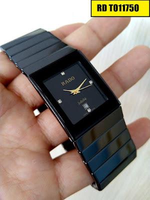 đồng hồ nam mặt vuông, đồng hồ nam mặt chữ nhật RD T011750
