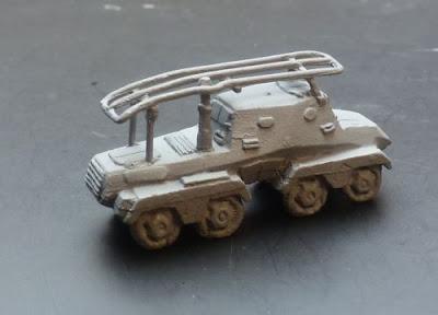 Gv 192 Eight Wheel Funk Armoured Car