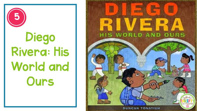 Hispanic Heritage Month Picture Books to share with your upper elementary students.