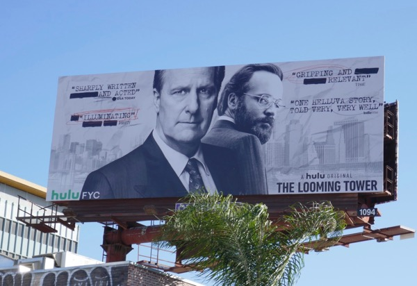 Looming Tower Hulu FYC billboard