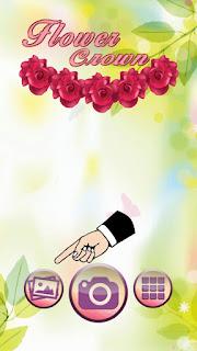 Aplikasi android bunga di kepala