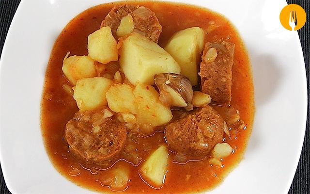 receta patatas riojana
