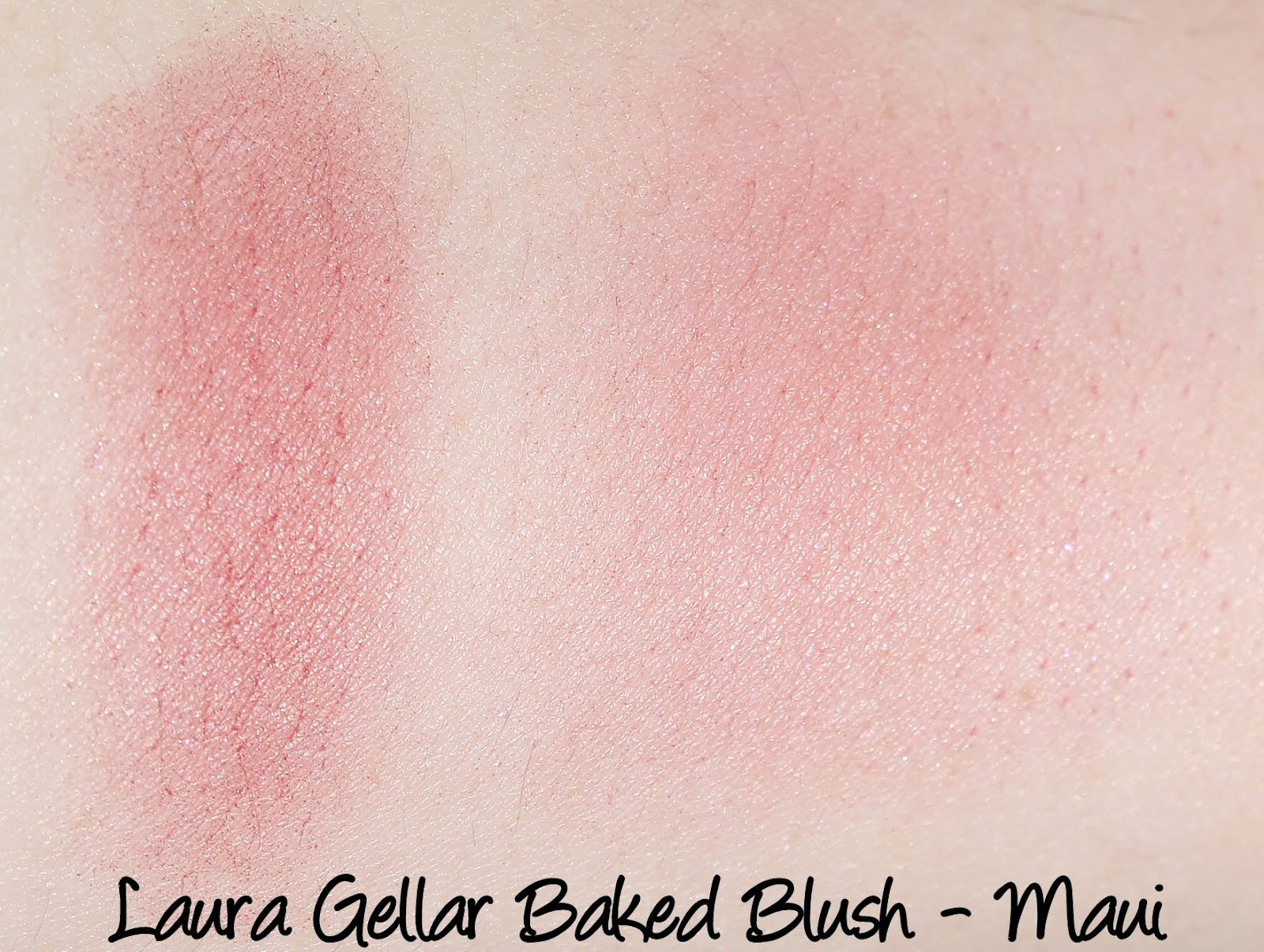 Laura Geller Baked Blush - Maui Swatches & Review