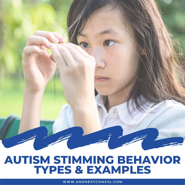 Autism stimming behaviors