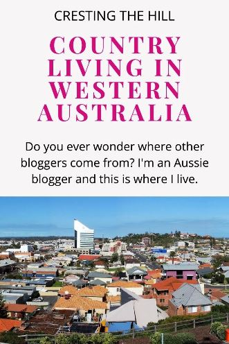 Do you ever wonder where other bloggers come from? I'm an Aussie blogger and this is where I live.