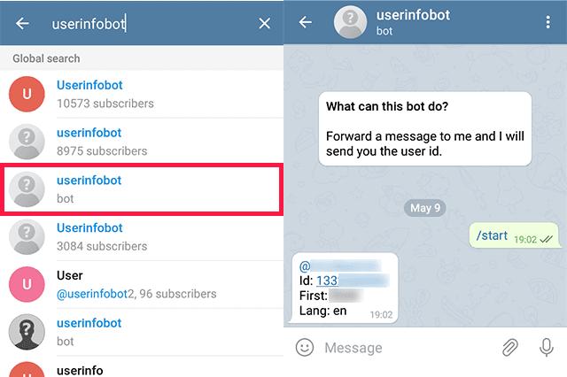 Cara Melihat ID Telegram Sendiri