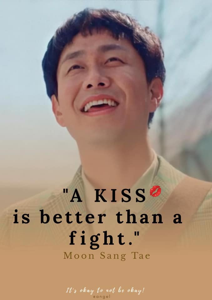 A Kiss Is better than a fight- Moon Sang Tae