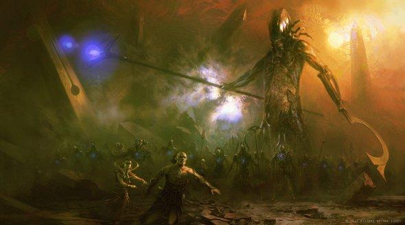 9cb9fcc0 As incríveis e sombrias ilustrações de fantasia e terror para games ...