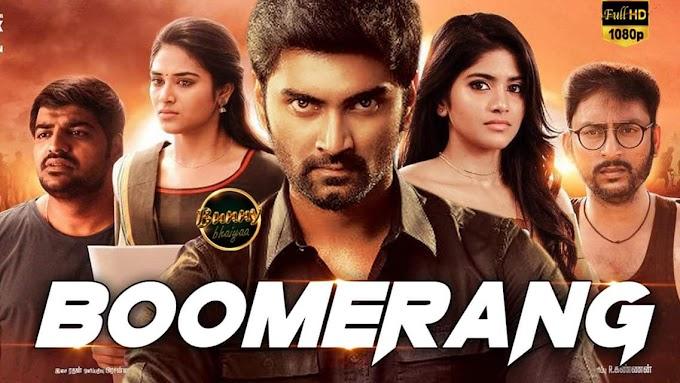 BOOMERANG (2019) South Hindi Dubbed Full Movie Download