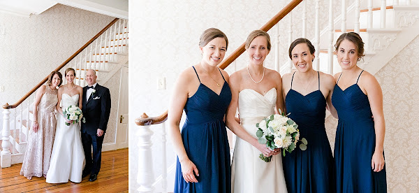 Classic Downtown Annapolis Wedding at St Marys and the Charles Carroll House photographed by Heather Ryan Photography