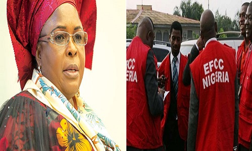 EFCC uncovers new 9 houses, 2 hotels, one plaza allegedly owned by Patience Jonathan
