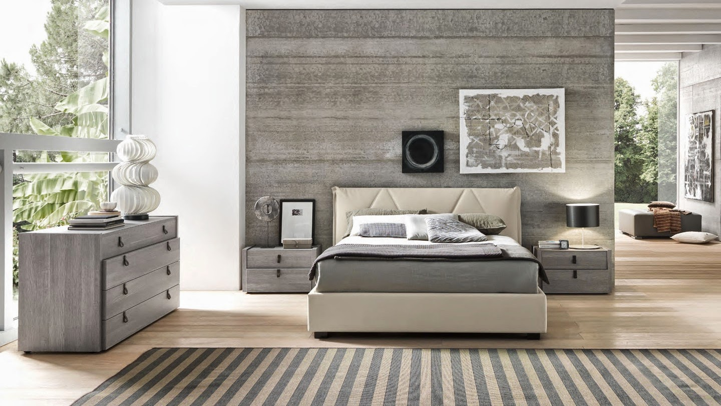 bedroom Gray and Beige