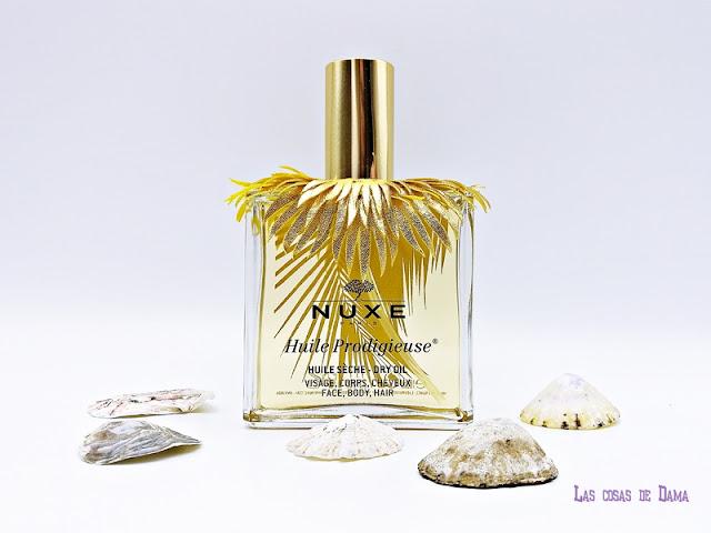 Huile Prodigieuse Nuxe Edición Limitada Verano 2018 aceite multifuncion skincare facial corporal cabello farmacia beauty