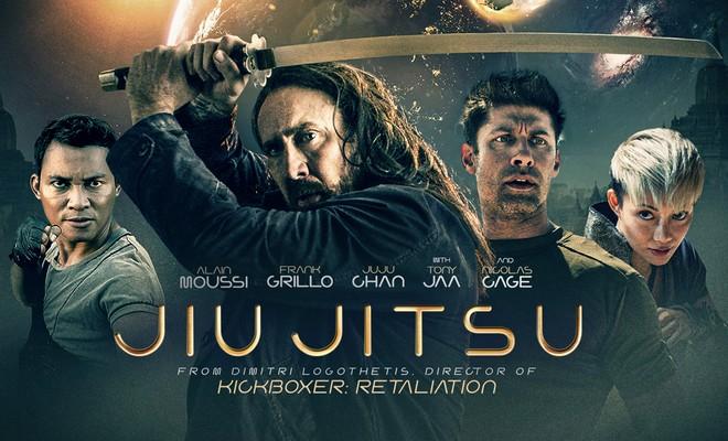 JUI JITSU: Nicolas Cage y el resto de la serie B con espadas contra un Depredador del todo a 100. Tan mala como imprescindible