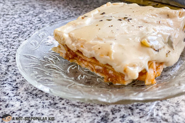 The Hungry Sibs' Classic Lasagna - Metro Manila