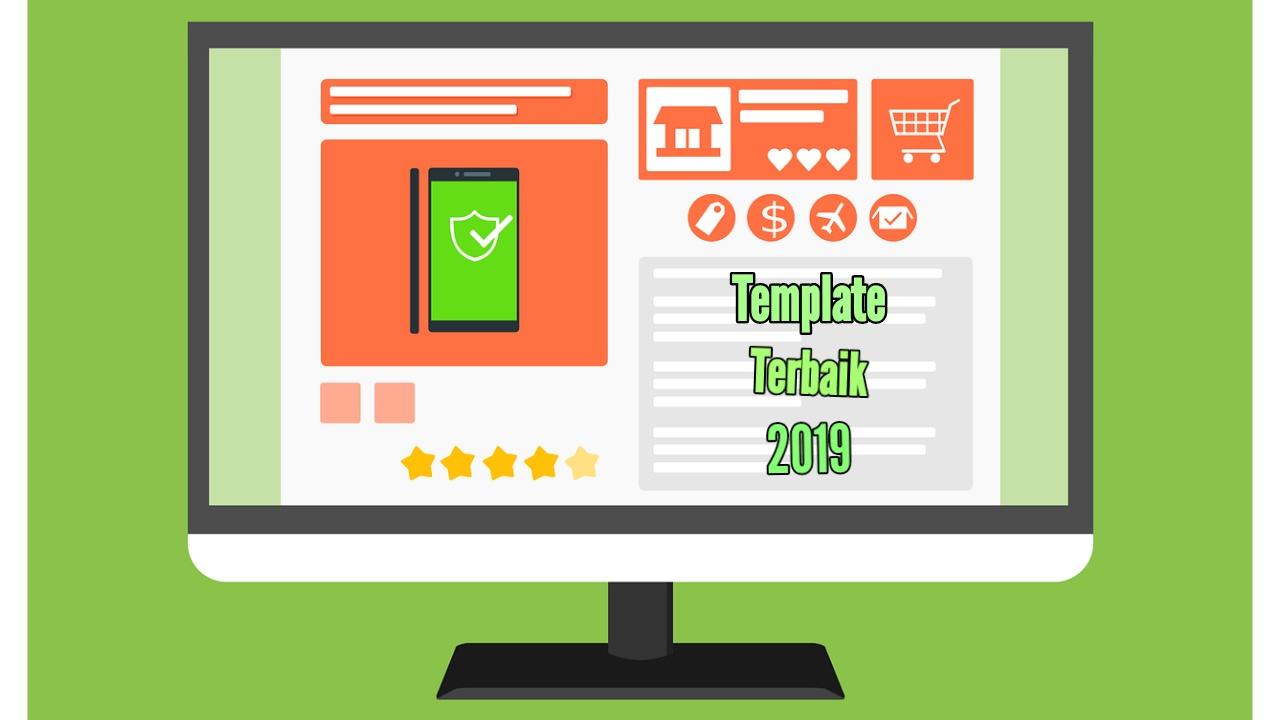 Template Blog Responsive Dan Fast Loading