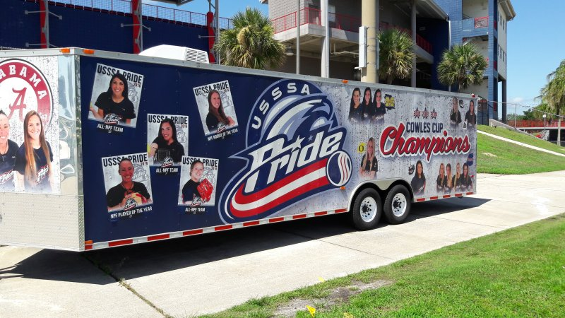 USSSA Pride Professional Women's Softball Team Promotional Trailer