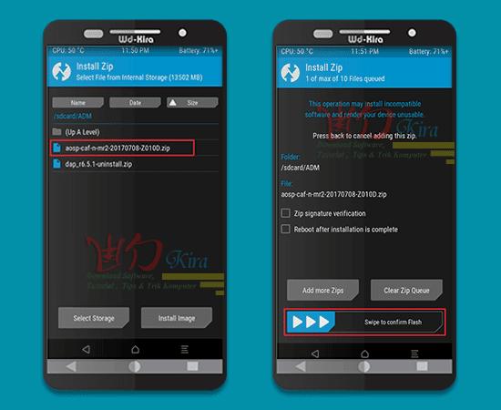 Wd-kira, cara mudah install custom rom, Cara Install Custom ROM Pada Semua Merek Smartphone Android, how to install custom rom on any android device, cara mengganti android terbaru, cara memasang custom rom pada smartphone android