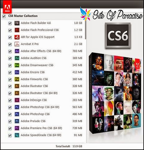 crack adobe cs6 master collection 64 bit