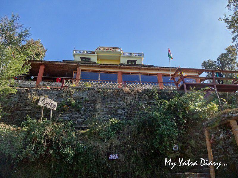 Hilltop Alhito cafe, Kasar Devi Uttarakhand